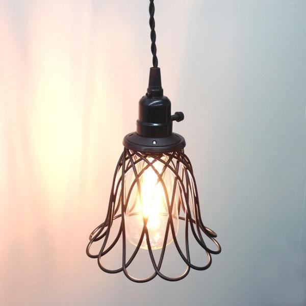 SALE)フラワー ワイヤーランプ ...