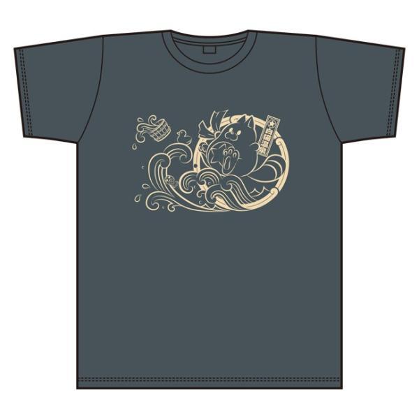 白猫温泉物語 Tシャツ ワインレッド L