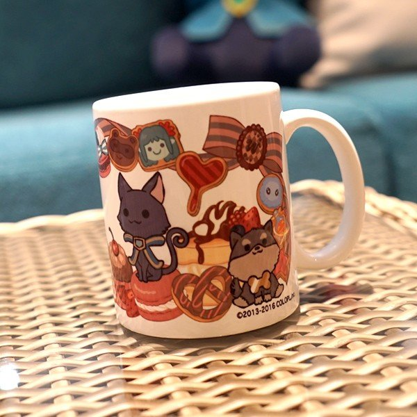 ウィズのマグカップ ミレイユ