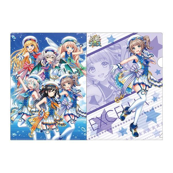 白黒テニス☆ドリームコラボ アイドルωキャッツ! クリアファイルセット エクセリア colopl-store 03