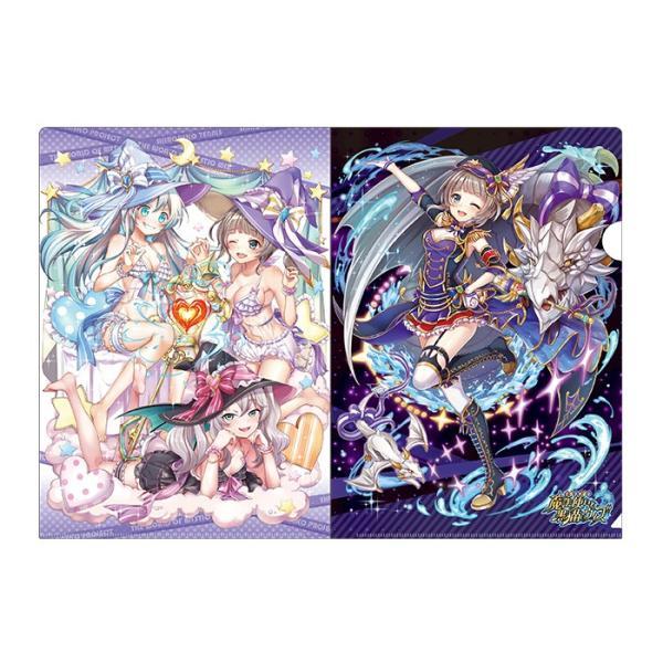 白黒テニス☆ドリームコラボ アイドルωキャッツ! クリアファイルセット エクセリア colopl-store 04