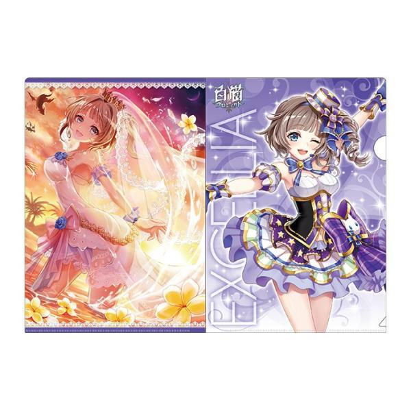白黒テニス☆ドリームコラボ アイドルωキャッツ! クリアファイルセット エクセリア colopl-store 05