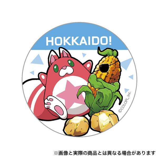 ご当地星たぬき缶バッジ(北海道)|colopl-store
