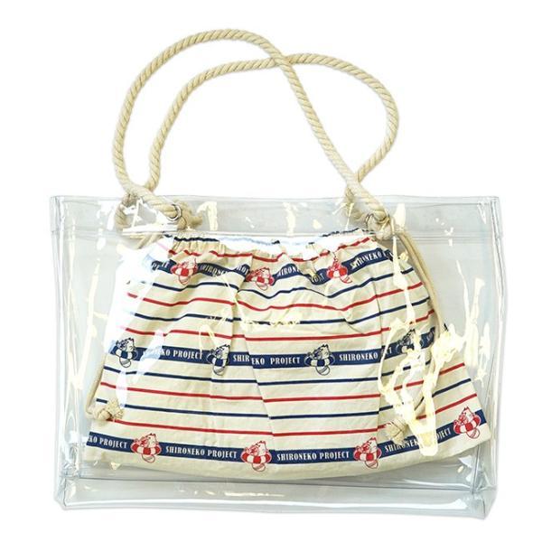 星たぬき 巾着つきビニールバッグ|colopl-store