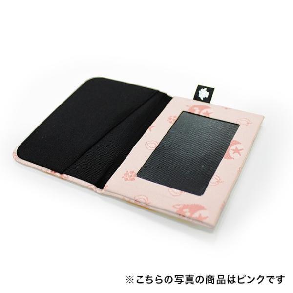西陣織 星たぬきパスケース ピンク|colopl-store|02