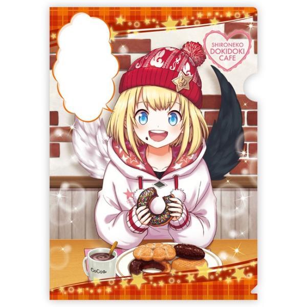 白猫ドキドキカフェ クリアファイル マール|colopl-store
