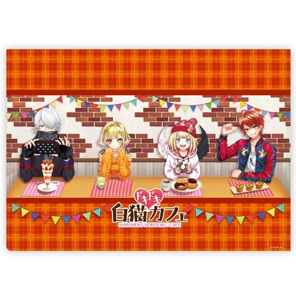 白猫ドキドキカフェ クリアファイル マール|colopl-store|02