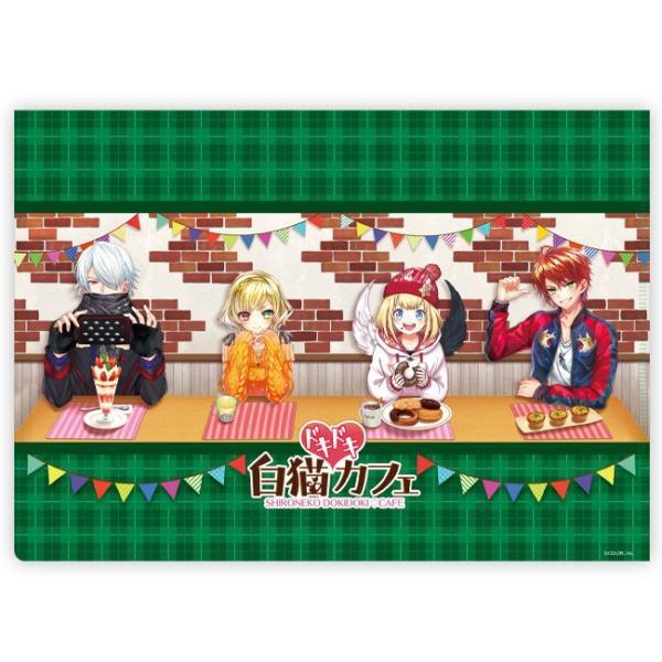 白猫ドキドキカフェ クリアファイル リアム|colopl-store|02