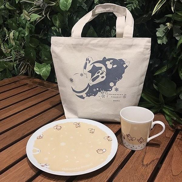 白猫プロジェクト 食器セット 雪と星たぬき|colopl-store
