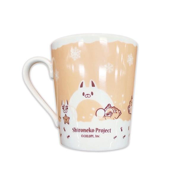 白猫プロジェクト 食器セット 雪と星たぬき|colopl-store|03