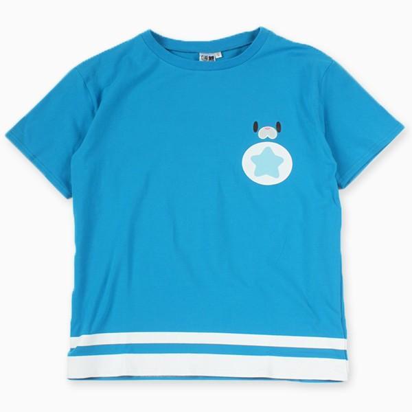 星たぬきTシャツ BLU|colopl-store