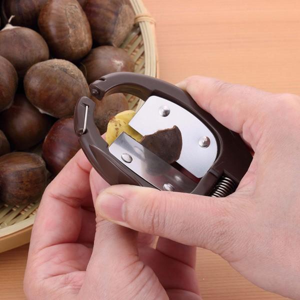 栗の皮むき 日本製 スゴ切れ 栗の皮むき器 ( 栗むき器 栗皮剥き 栗用 )