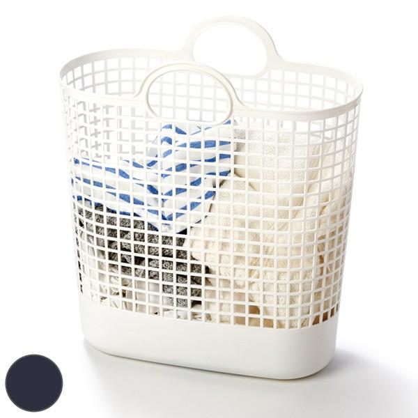 ランドリーバスケット タウンバスケットビッグ LBB-17C バイオプラスチック配合 ( 洗濯かご バスケット ランドリーバッグ ライクイット )