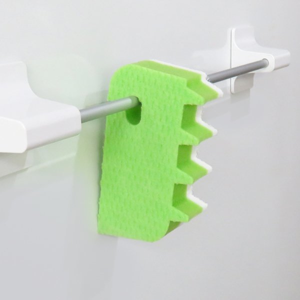 バススポンジ 吊るせる スポンジ 風呂蓋 クリーナー お風呂 お風呂掃除 バス 浴槽 浴室 ( 掃除 そうじ 清掃 )