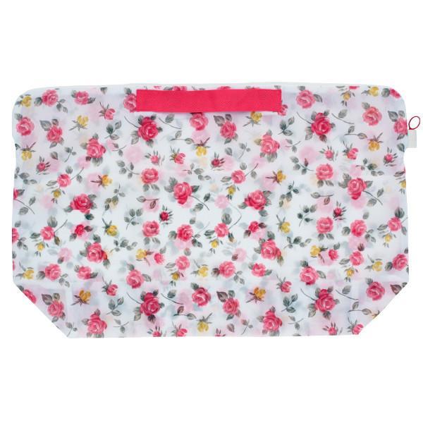 洗濯ネット 持ち運び洗濯ネットバッグ ランドリーバッグ 洗濯 ネット ( 洗濯用ネット コインランドリー用バッグ プリント 花柄 )