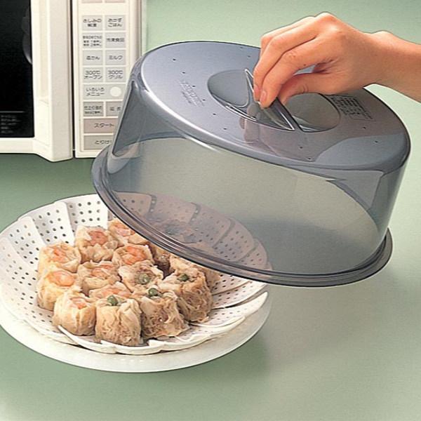 フードカバー電子レンジ用(電子レンジ食器蓋ふた耐熱蓋カバープラスチック製キッチン雑貨便利グッズ)