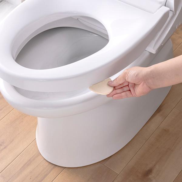 便座取っ手 抗菌便座取っ手 トイレ 取っ手 便座 トイレグッズ グッズ 便利グッズ ( 抗菌 つまみ ハンドル 上げ下げ )
