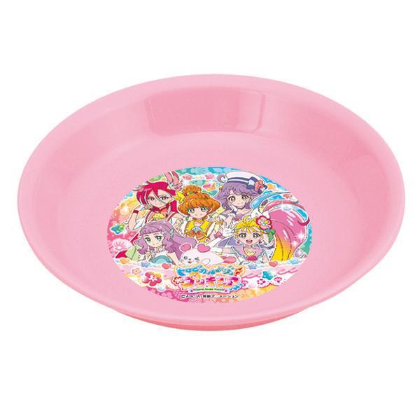 プレート 小皿 トロピカル〜ジュ!プリキュア 子供用 食器 プラスチック キャラクター 日本製 ( プリキュア トロピカルージュ 取り皿 パン皿 )