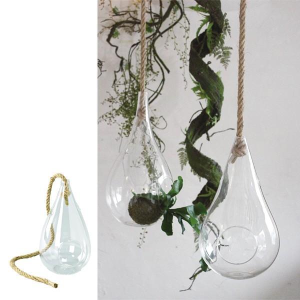 花瓶 ガラスハンギングベース Sサイズ ( 花瓶 花器 ガラス )