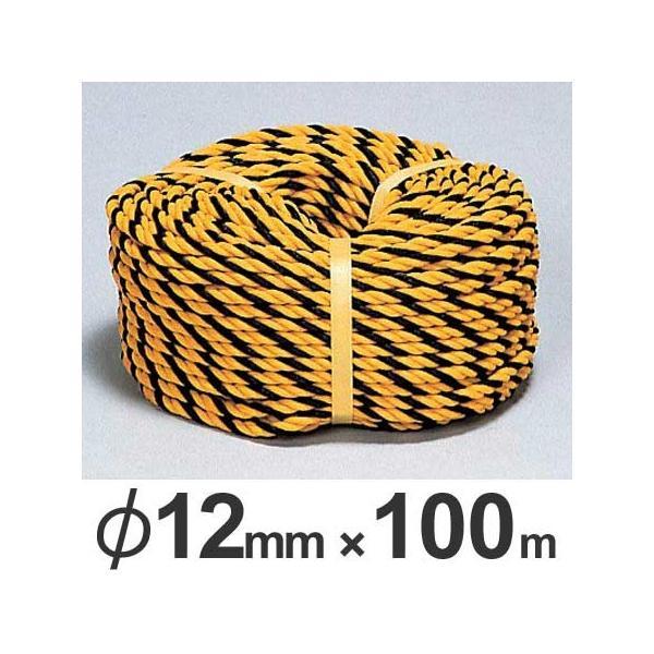 トラロープ 直径12ミリ×100m巻