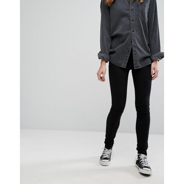 リーバイス ジーンズ レディース Levi's 711 Mid Rise Skinny Jeans エイソス ASOS ブラック 黒 スキニー 日本未入荷 新作 人気 インポート|colors-kira