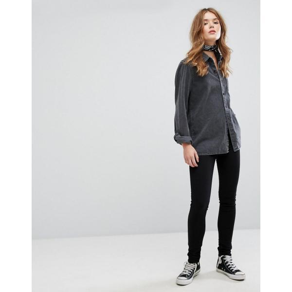 リーバイス ジーンズ レディース Levi's 711 Mid Rise Skinny Jeans エイソス ASOS ブラック 黒 スキニー 日本未入荷 新作 人気 インポート|colors-kira|04