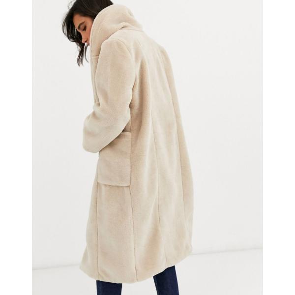 YUNY Womens Coat Faux-Fur Trim Hooded Outwear Slim Fit Puffer Jacket White XL