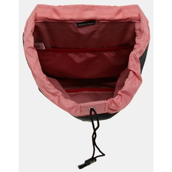 ハーシェル ハンドバッグ レディース Herschel Supply Co worldwide exclusive post backpack エイソス ASOS ブラック 黒