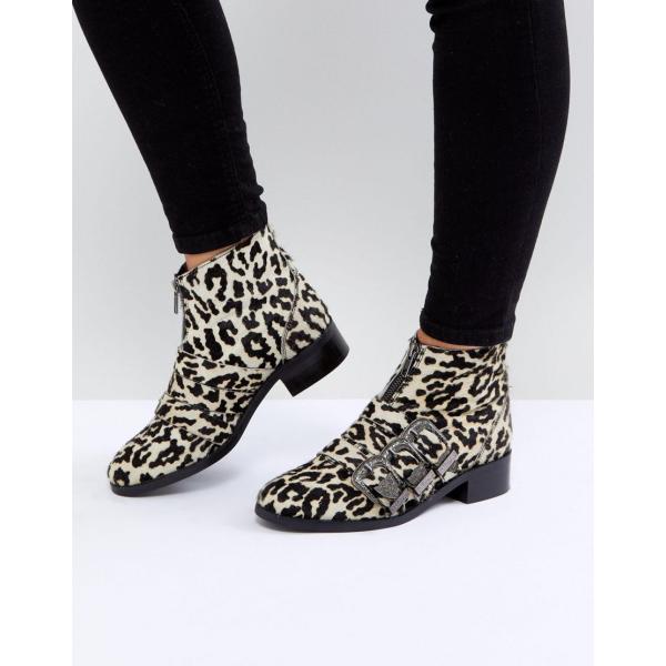 エイソス ブーツ レディース ASOS ALL FOR IT Leather Buckle Ankle Boots エイソス ASOS レザー アンクルブーツ ブーティ 日本未入荷 新作 人気 インポート