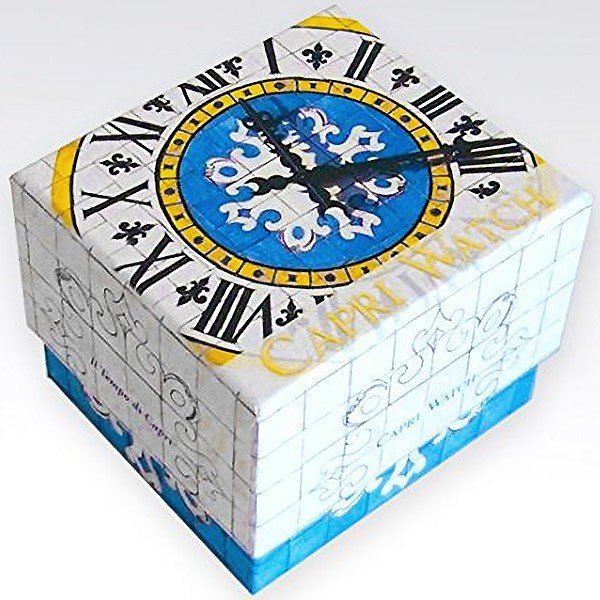 カプリウォッチ Capri watch レトロ 腕時計 ウォッチ ホワイト Art. 5367 レディース メンズ ユニセックス 女性 男性 男女兼用