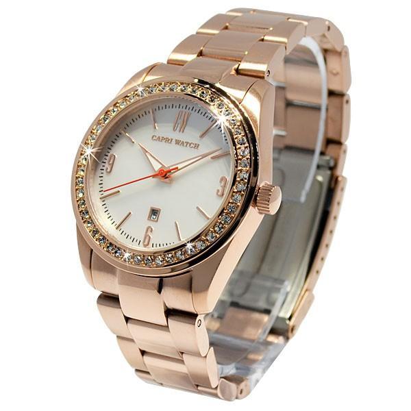カプリウォッチ Capri watch ダブルエックス 腕時計 ウォッチ ホワイト Art. 5351 レディース メンズ ユニセックス 女性 男性 男女兼用