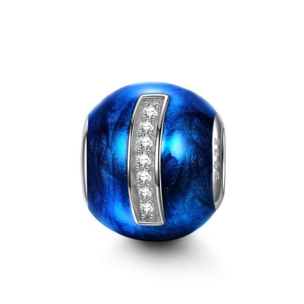 チャーム ブレスレット バングル用 Nina Queen スタイル ニーナ クイーン デザイン NinaQueen 925 Sterling Silver Bead Letter Charms for Pand?ra Bracelet Ne