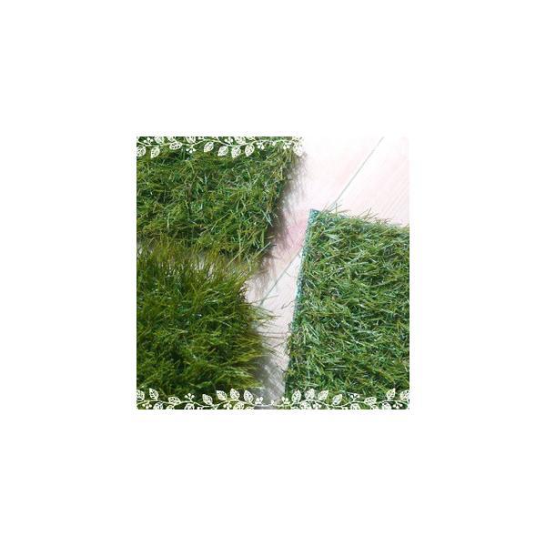 人工芝(サンプル)芝丈20/30/40mmセット【メール便】お一人様1個限り