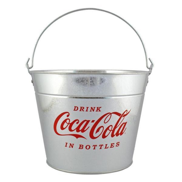 バケツ コカコーラ ブリキ製バケツ PT-BXA5 COCA-COLA インテリア 収納 洗車 アウトドア ガーデニング アメリカ雑貨 アメリカン雑貨