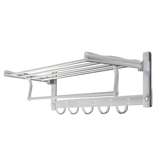 収納 DULTON ダルトン アルミニウム ウォールラック Model.H19-0024 壁掛け2段 ラック バス キッチン ガレージ アメリカン雑貨
