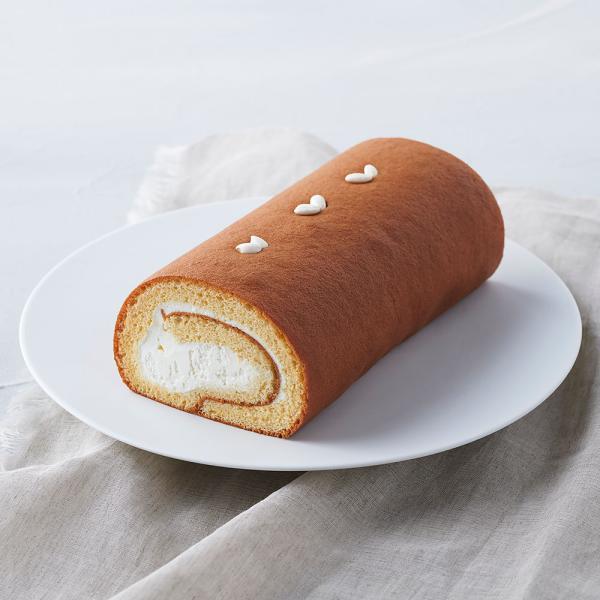 お米のロールケーキ「夢の穂」(プレーン)米粉グルテンフリーバーロールケーキギフトお菓子無添加小麦粉不使用