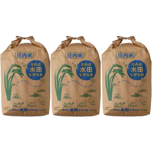 令和2年度産 山形県庄内産 検査1等 特別栽培「つや姫」玄米 30kg 3袋に小分けする