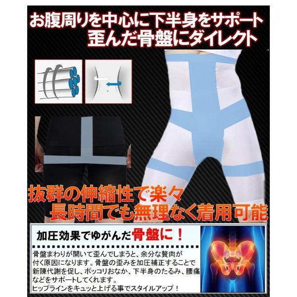 加圧スパッツ 着圧スパッツ コンプレッションウェア インナー スパッツ 補正下着 姿勢 矯正 ダイエット|comfortablegoods|03