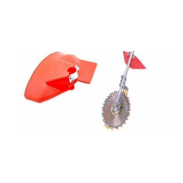 草刈機用 カバー 刈払機用 草 石 飛散 防止 カバー 防護|comfortclub|05
