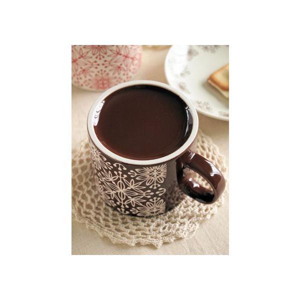 マグカップ フラワーモザイク マグカップ ダークブラウン 北欧雑貨 アンティーク調|comfy-shop|04