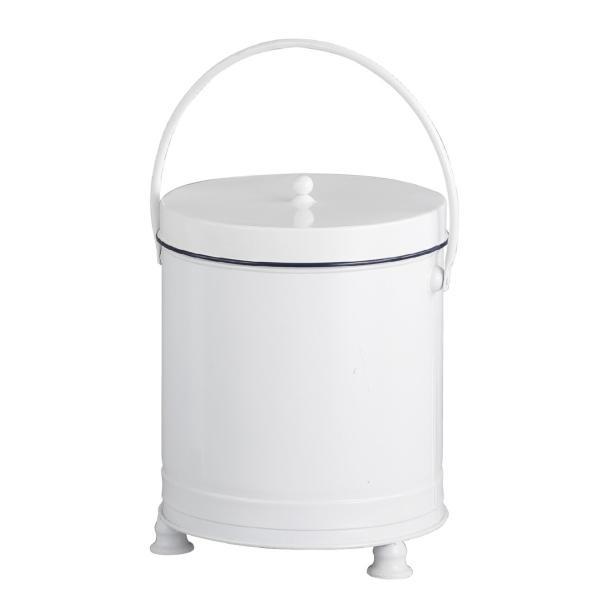 レトロ調 ロピタル リッドボックス L ゴミ箱 アンティーク調 ごみ箱