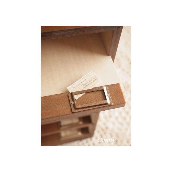 書類ケース A4 おしゃれ ナチュラル雑貨 6段 書類棚 ブラウン A4サイズ|comfy-shop|02