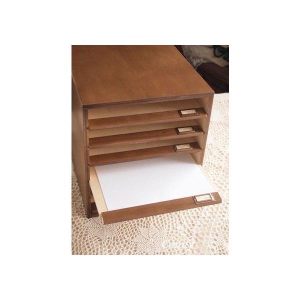 書類ケース A4 おしゃれ ナチュラル雑貨 6段 書類棚 ブラウン A4サイズ|comfy-shop|05