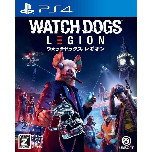 新品PS4ソフトウォッチドッグスレギオン通常版