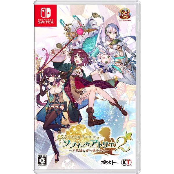 新品 Nintendo Switchソフト ソフィーのアトリエ2 ~不思議な夢の錬金術士~ (COMG!オリジナルQUOカード付)