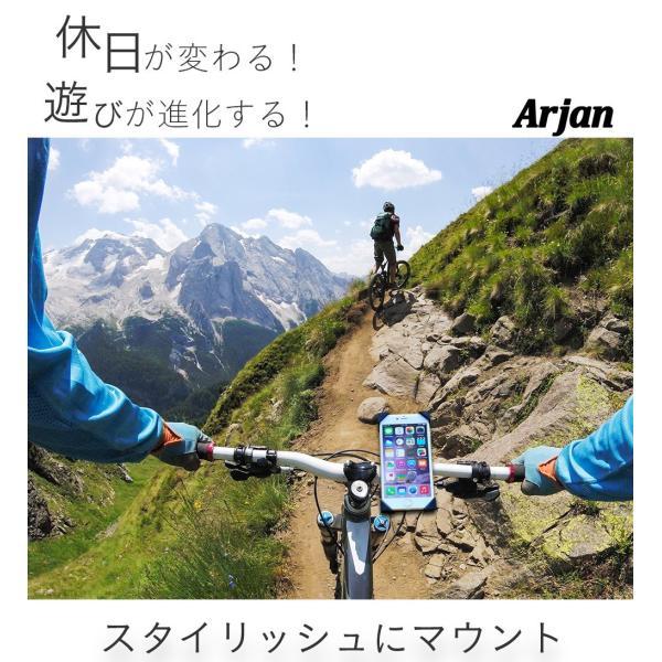 バイク スマホホルダー 自転車 スマホスタンド 携帯ホルダー ロードバイク|commers-shop|02