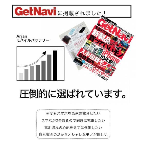 モバイルバッテリー 大容量 iPhone スマホ 携帯 充電器 急速充電 10000mAh|commers-shop|05