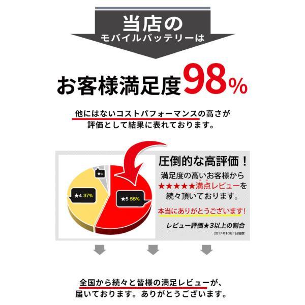 モバイルバッテリー 大容量 iPhone スマホ 携帯 充電器 急速充電 10000mAh|commers-shop|08