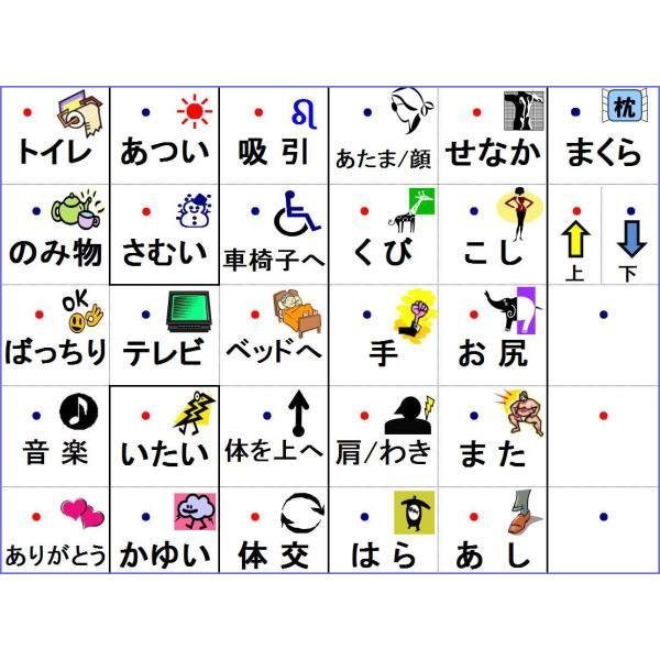 コミュニケーションボード・透明ワード盤A3判|communication-board|02