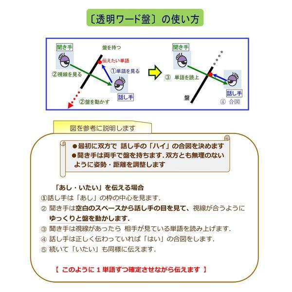 コミュニケーションボード・透明ワード盤A3判|communication-board|03